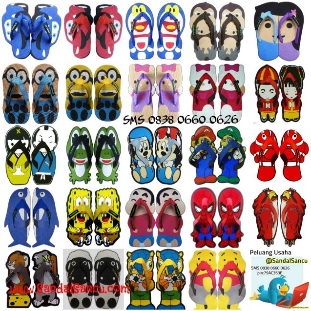 Koleksi Sandal Sancu Terbaru