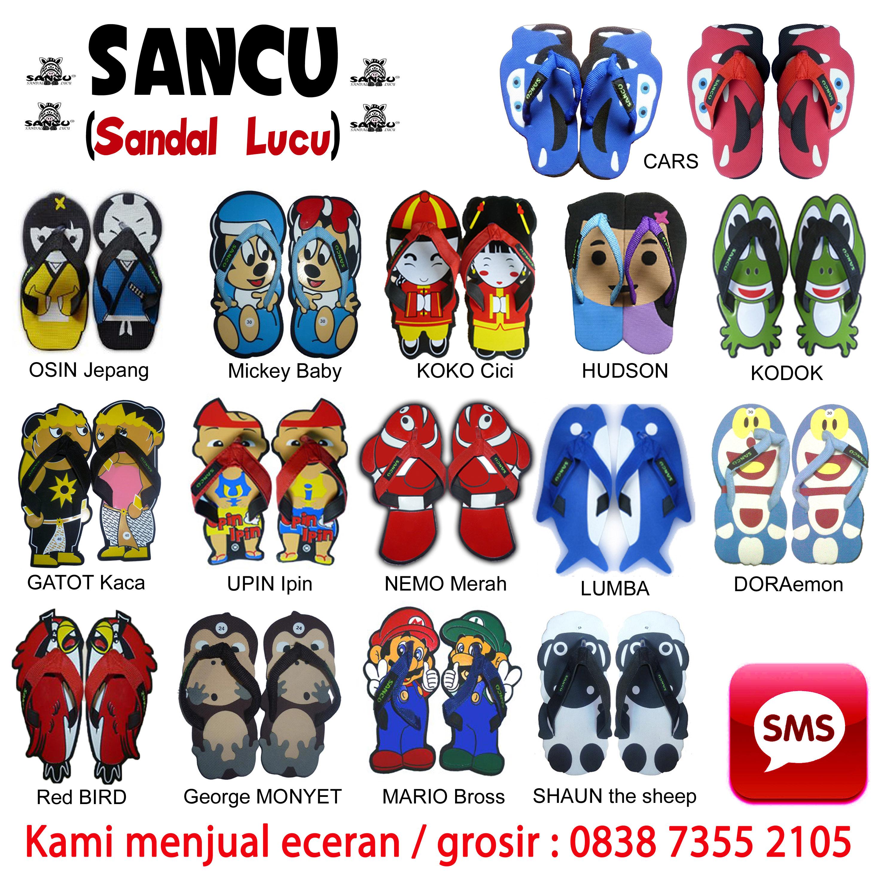 Elang Yudantoro Jual Sandal SANCU Murah WA 0812 9499 1685