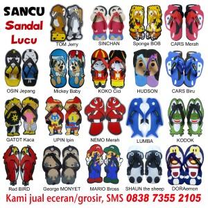 jual sandal lucu online