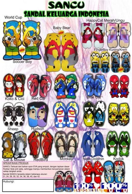 Katalog Sandal Lucu