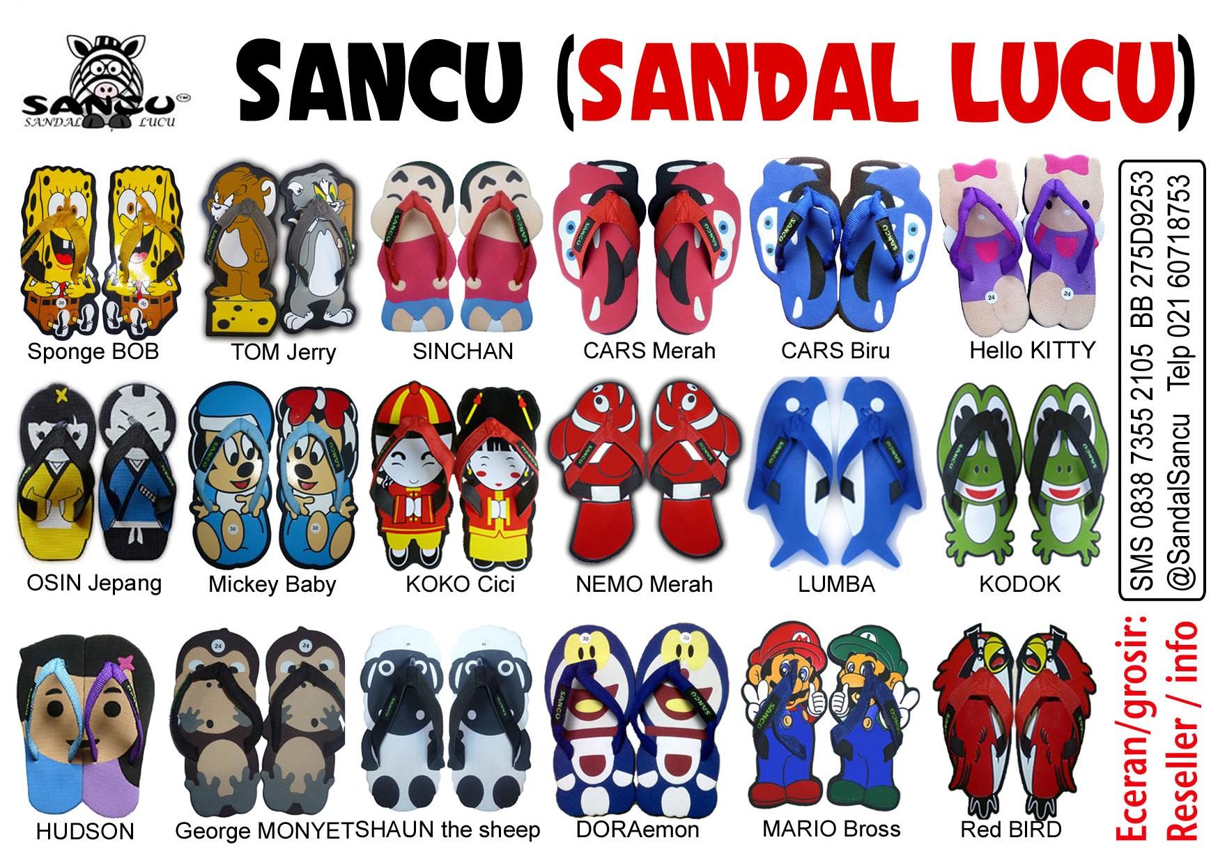 Jual Sandal Sandal Lucu Model Hudson Jual Sandal Lucu ...