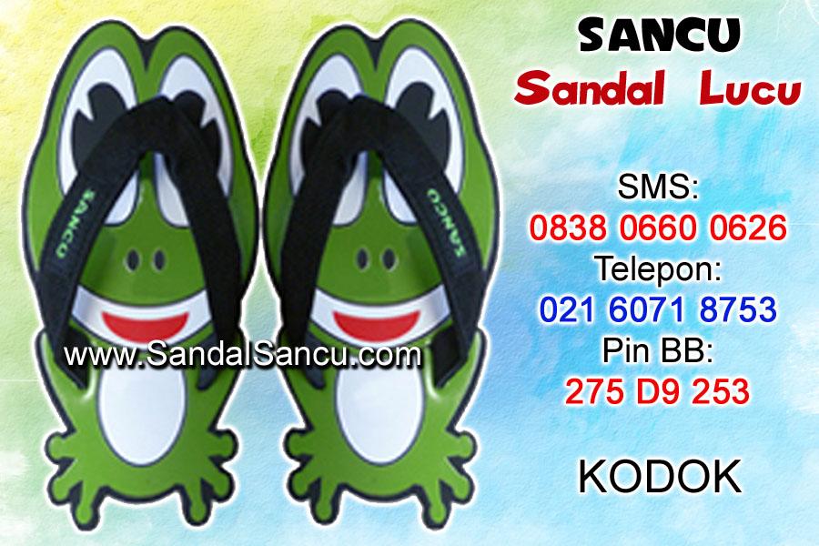 Jual Sandal Sandal Lucu Model Kodok | Jual Sandal Lucu ...