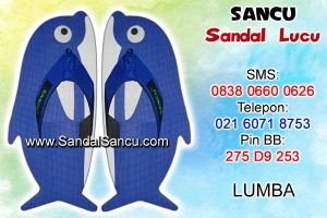 Jual Sandal Sandal Lucu Model Lumba Dolphin
