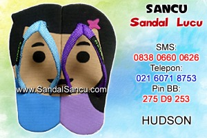 Jual Sandal Sandal Lucu Model Hudson