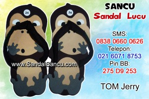 Jual Sandal Sandal Lucu Model George Monyet