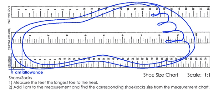 Ukuran Sandal Lucu Sancu
