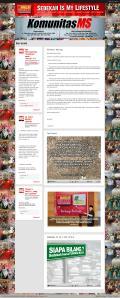 Harga Jasa Pembuatan Website Komunitas Makelar Sedekah