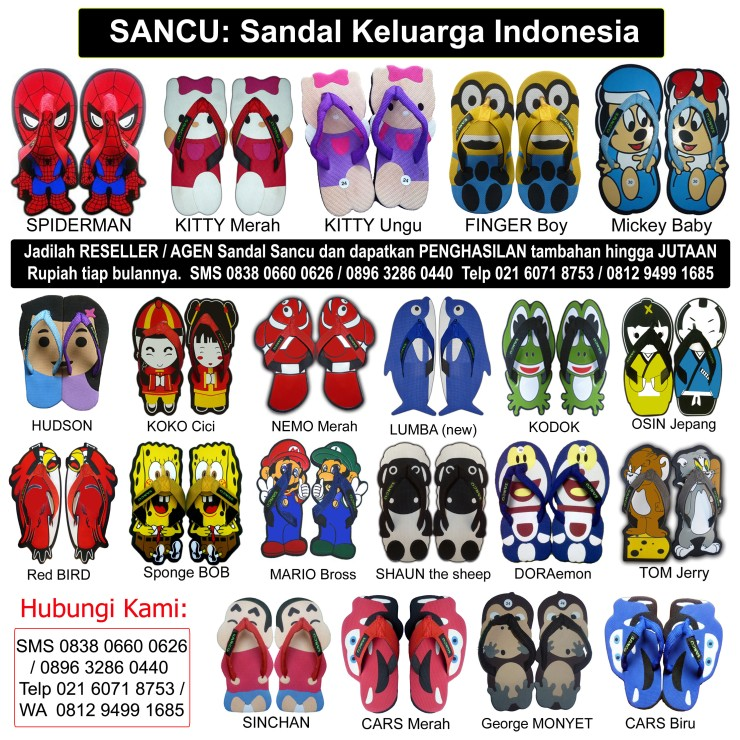 Best Flip Flops Supplier in Indonesia