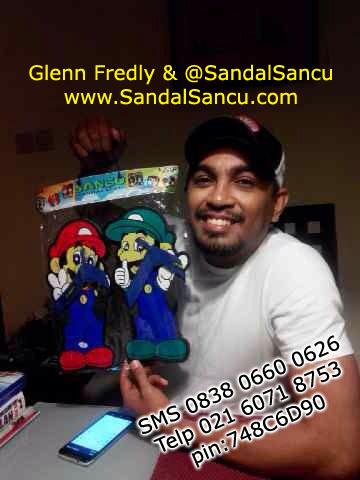Glenn Fredly dan Sandal Sancu