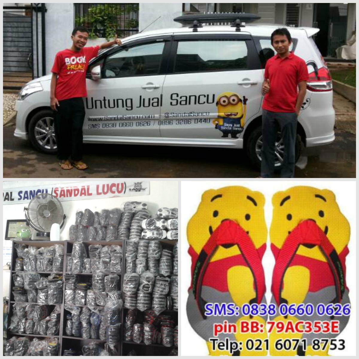 Sancu Jual Sandal SANCU Murah WA 0812 9499 1685