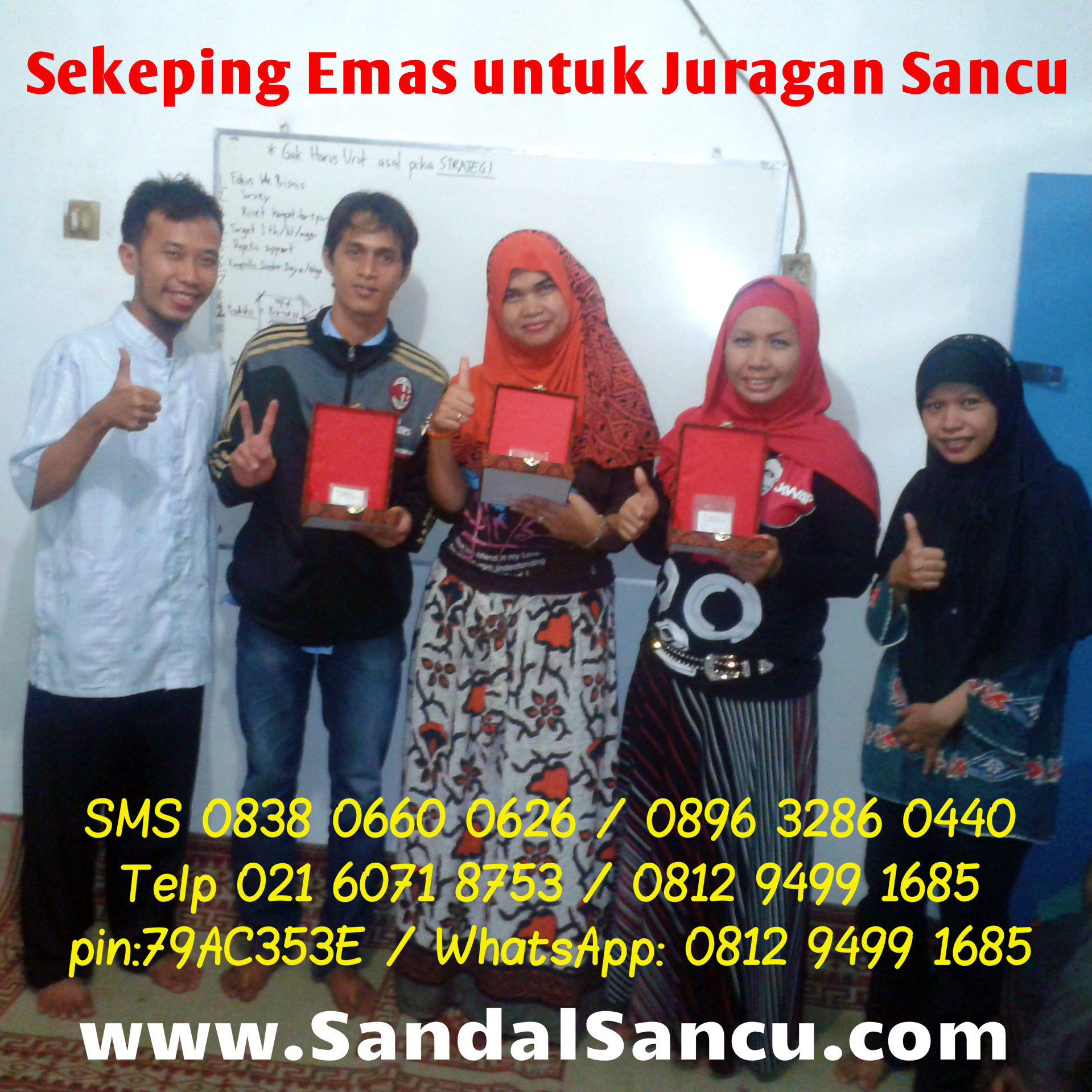 Marketing Sandal Lucu Sancu Jual Sandal SANCU Murah WA 0812