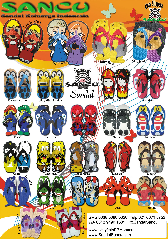 Sandal Jual Sandal SANCU Murah WA 0812 9499 1685