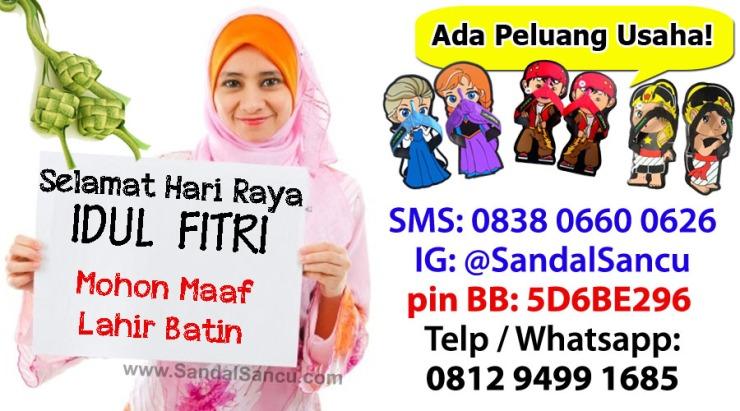 Mohon Maaf Lahir Batin dari @SandalSancu. Mau Sarung Gratis?