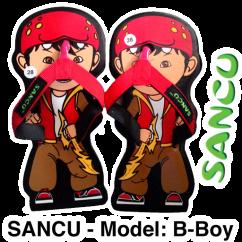 Sticker-@SandalSancu-Bboy